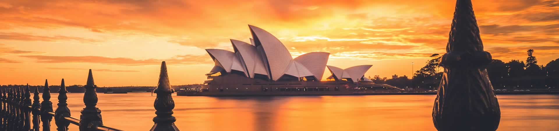 Leisure Travel Slider – The Opera House in Sydney Australia