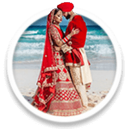 Popup button for Destination Weddings