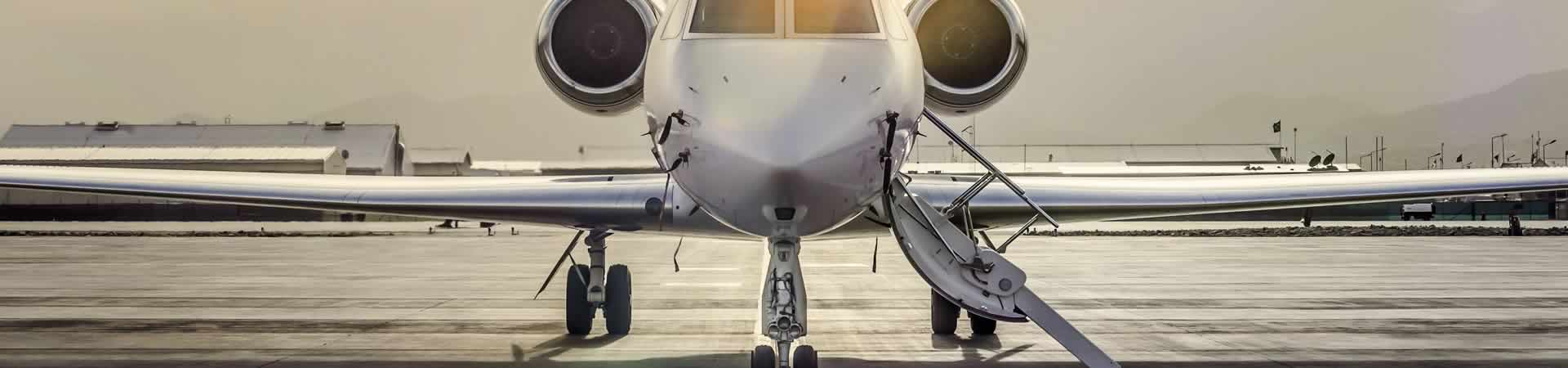 Private Jet Slider – Private Jet Nose with Door Open