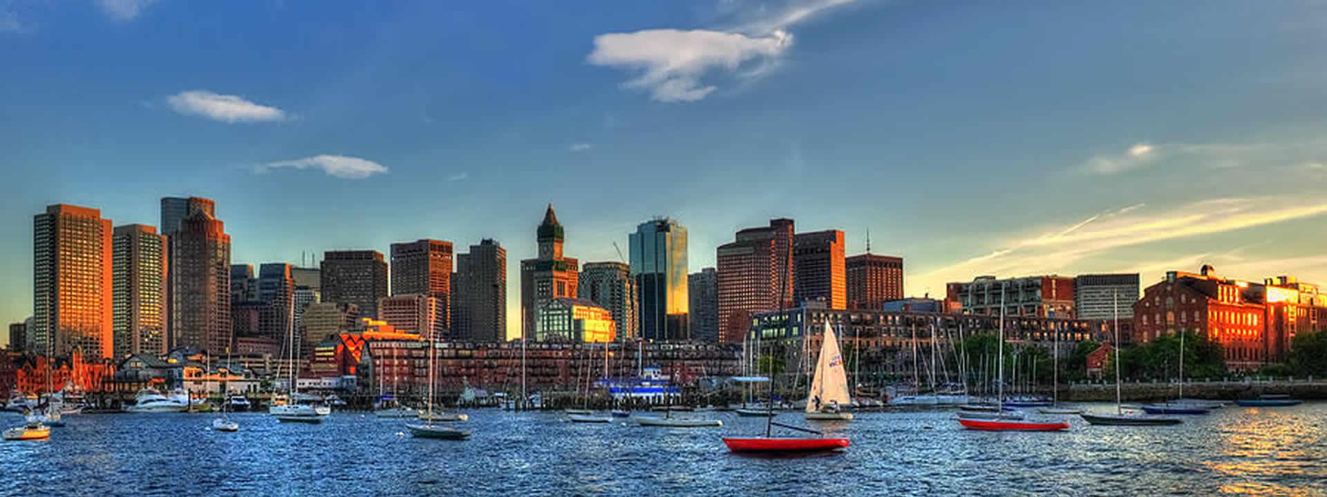 Boston Private Jet Charter Skyline